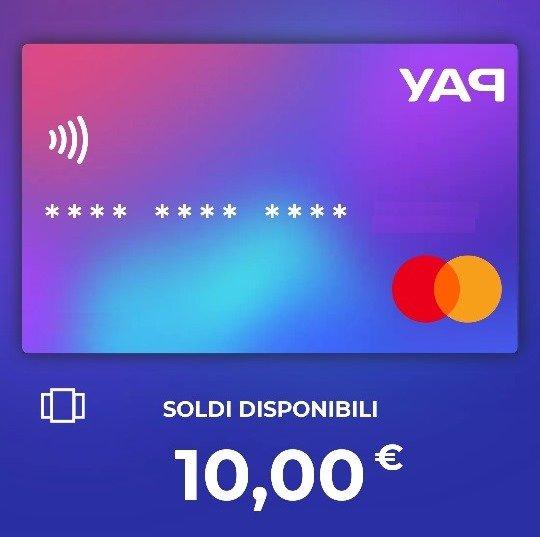 Yap: la nuova carta elettronica con una sorpresa per te